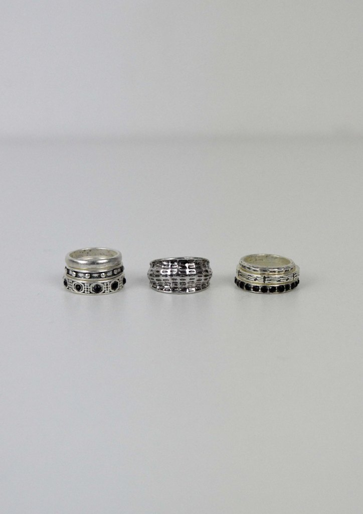 7b8c55a803 Δαχτυλίδια σετ boho Luna