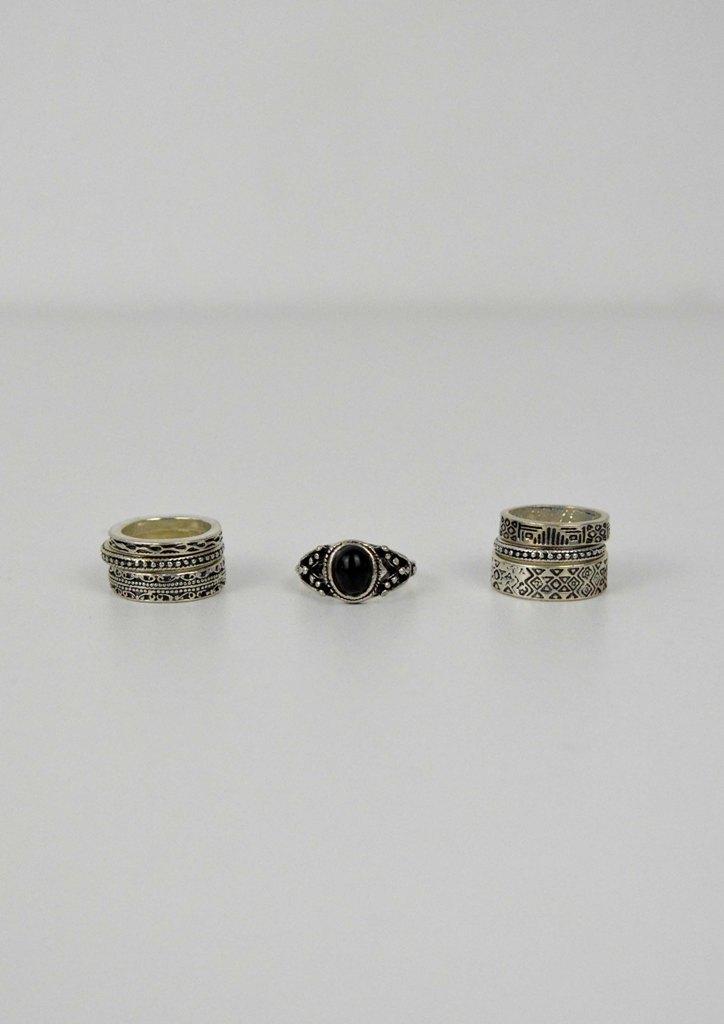 Δαχτυλίδια σετ boho Aurora  5df29686244