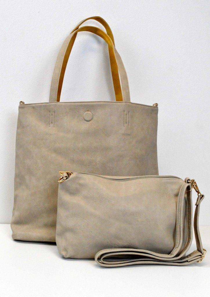 Τσάντα διπλής όψης με τσαντάκι  3082cd9370e