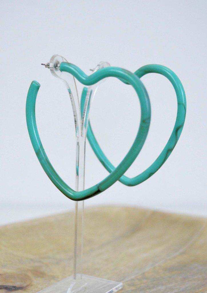 σκουλαρικια-καρδια-ρητινη