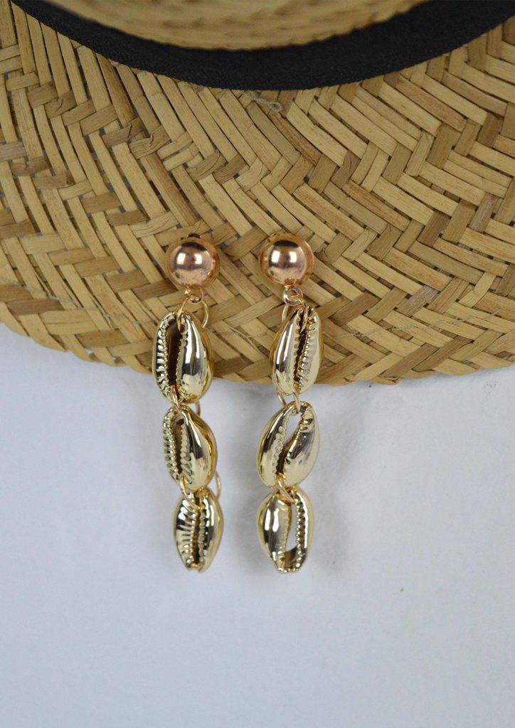 σκουλαρικια-κοχυλια-χρυσο