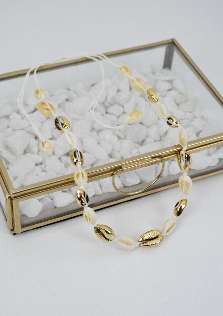 κολιε-κοχυλια-λευκο-χρυσο