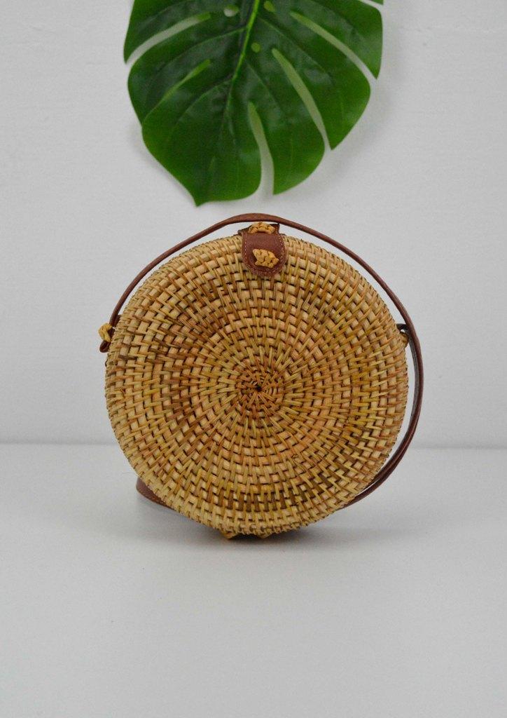 τσαντα-bamboo-στρογγυλη