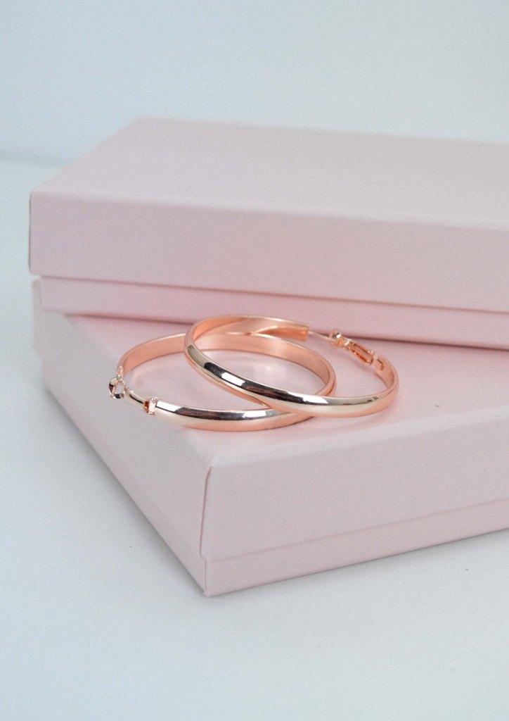 σκουλαρικια-κρικοι-ροζ-χρυσο